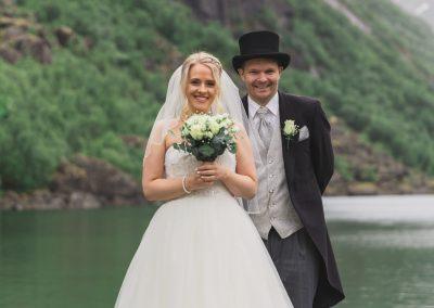 Ginaplusskim - Portrettbilde storvannet i Beisfjord