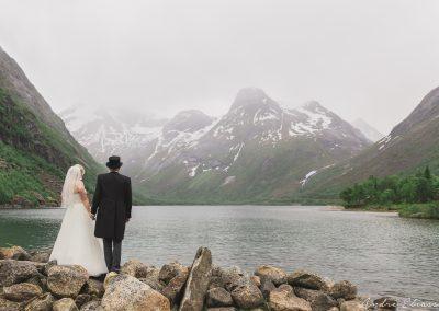 Portrettbilde - Storvannet i Beisfjord 2